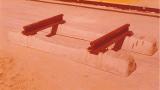 חלוץ הקמת פסי רכבת בשיטת אדני בטון-1979
